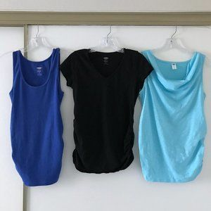 (Set of 3) Old Navy Maternity summer tops, SMALL